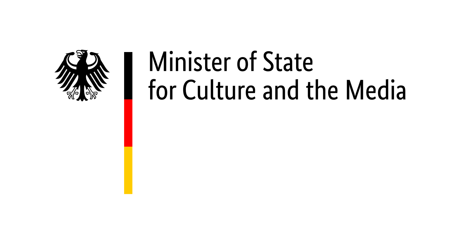 Logo Minister of State for Culture and the Media